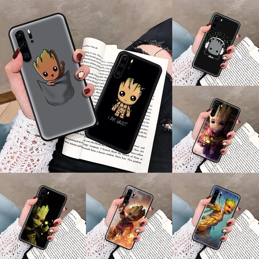 custodia-per-telefono-guardians-of-the-for-galaxy-marvel-per-huawei-p-mate-smart-10-20-30-40-lite-z-2019-pro-paraurti-nero-pittura-coque