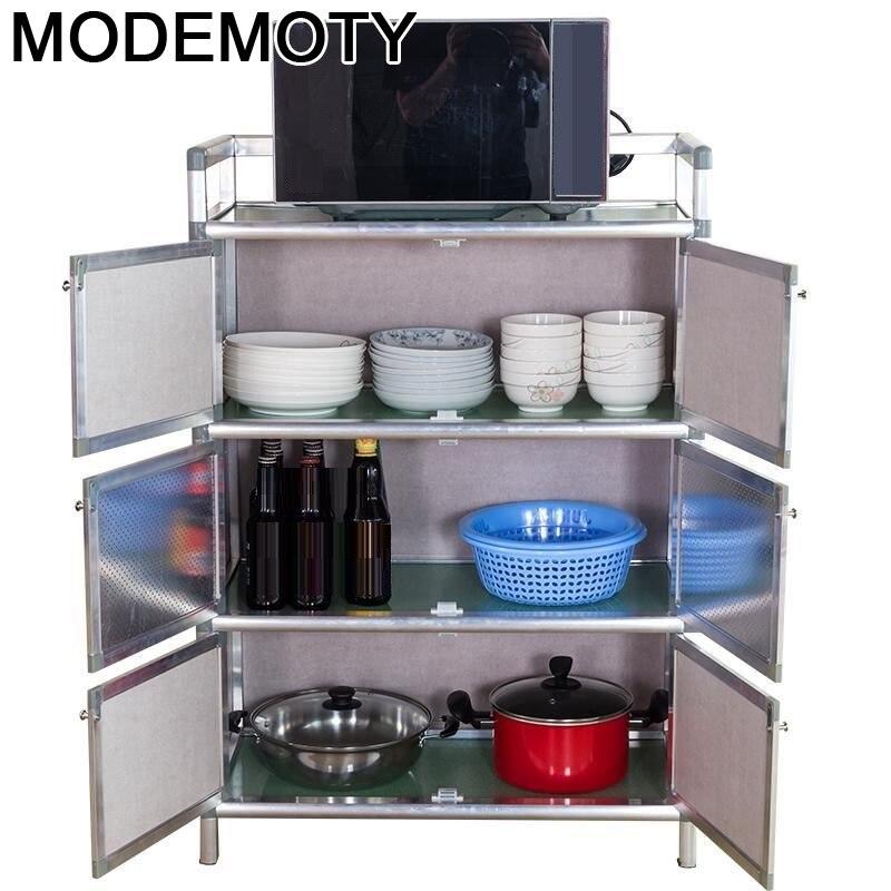 Aparadores Capbords regalo mesas de muebles de aleación de aluminio de Meuble...