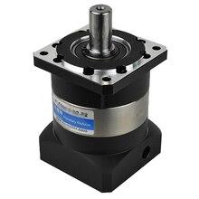 Boîte de vitesse planétaire 201   Haute précision 16mm entrée et 20mm sortie réducteur de boîte de vitesse pour moteur de Servo 750W 1KW 90mm