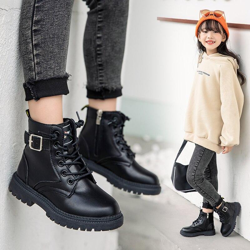botas martin para criancas meninos e meninas botas classicas de amarrar com ziper