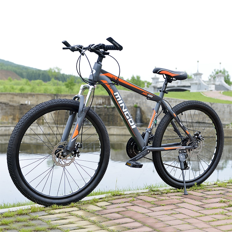 Mountain bike 24 velocidade freios a disco mecânico 26 polegada velocidade variável unidade de bicicleta estudantes do sexo masculino e feminino bicicleta ciclismo