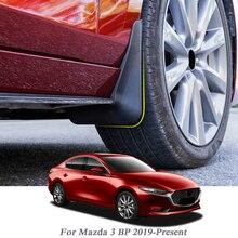 Garde-boue garde-boue style de voiture   Garde-boue, garde-boue, ailes de garde-boue, décoration externe pour Mazda 3 BP 2019-présent