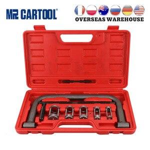 MR CARTOOL Car Engine Cylinder Head Valve Spring Compressor Remove Install Tool Clamp Set ATVs Installer Removal Tool Motorcycle