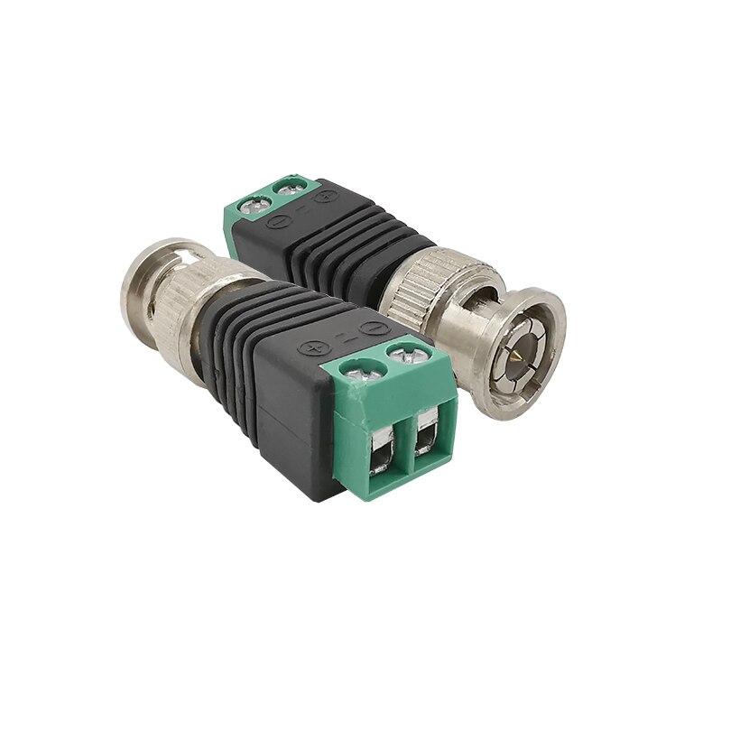 ALLiSHOP адаптер конвертер BNC папа в AV винт камера CCTV видео система безопасности Balum терминал коаксиальный кабель CAT5 BNC папа