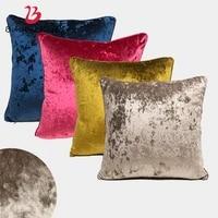 bubble kiss 45x45cm gold velvet cushion cover home decor pillow case multi density quality pillow cover for sofa home decor