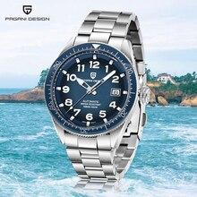 PAGANI DESIGN 2020 nouvelles machines automatiques hommes montres affaires sport montre hommes haut de gamme marque de luxe Simple montre Reloj hombres