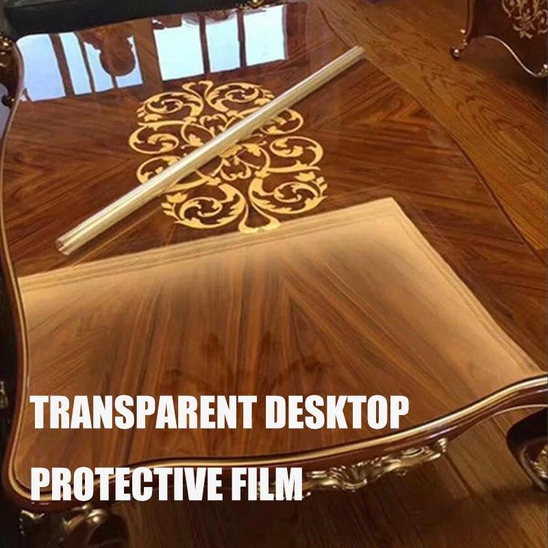Film auto-adhésif protecteur Transparent pour meubles, nouveau Film auto-adhésif résistant aux hautes températures