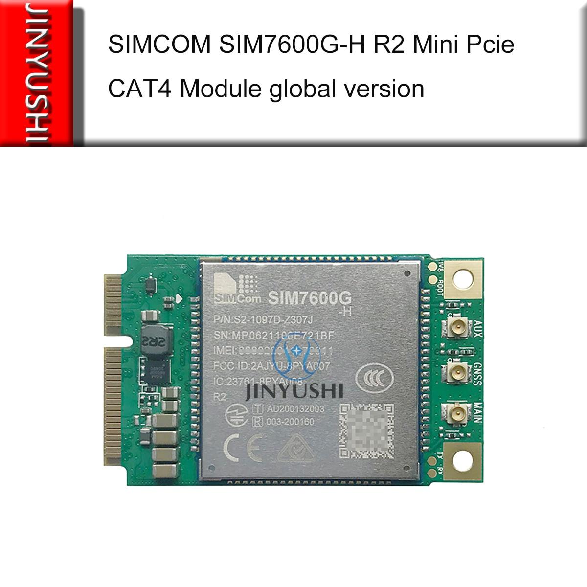 SIMCOM SIM7600G-H R2 البسيطة بكيي 4G LTE CAT4 وحدة العالمية النسخة استبدال SIM7600E-H SIM7600SA-H SIM7600JC-H SIM7600A-H