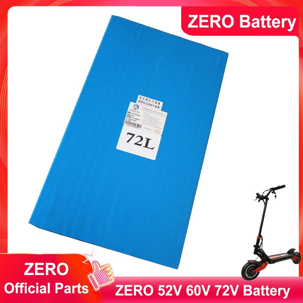 الأصلي صفر الغيار 18650 بطارية ليثيوم ل سكوتر كهربائي صفر 10X 11X صفر 52 فولت 60 فولت 72 فولت بطارية ليثيوم