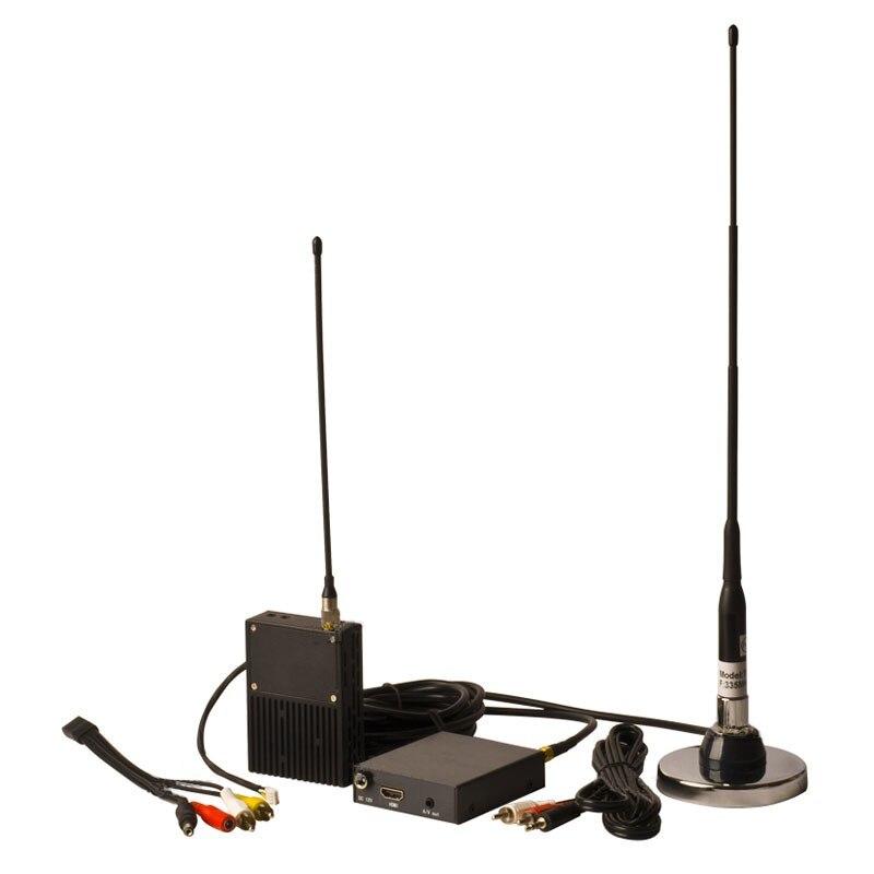 500 mw/1000 mw/2000 mw juego de receptor de transmisión de telemetría COFDM 2W transmisor de Audio Digital inalámbrico para UAV Drone Video