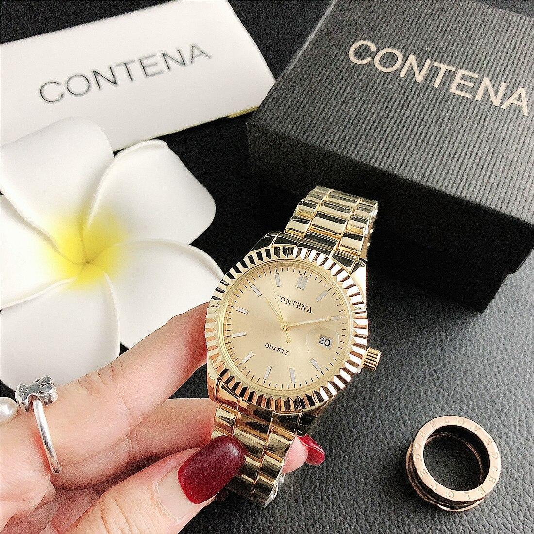 CONTENA 2020 nouveau modèle femmes montres mode luxe femmes Quartz montre-bracelet relogios reloj mujer montres