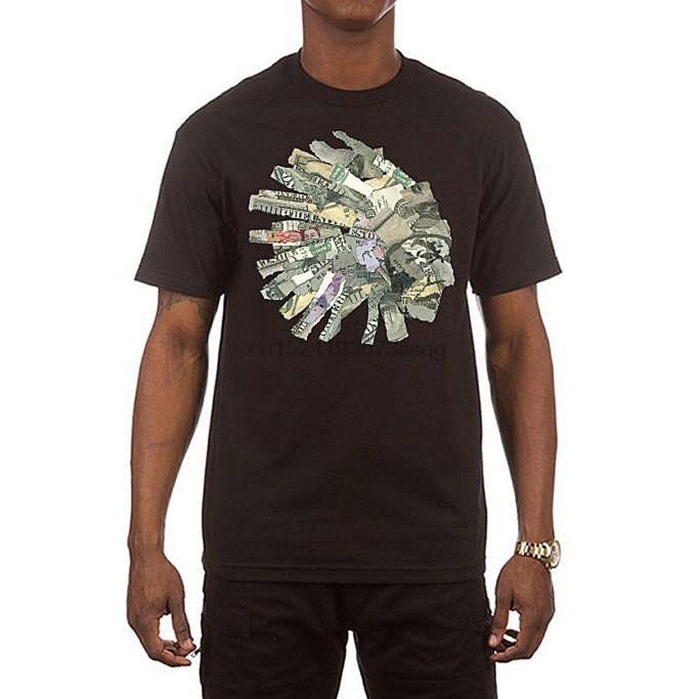 Camisetas de la criatura Hustle Gang, camiseta de moneda para hombre, ropa de calle de Skate negro, ropa de orgullo
