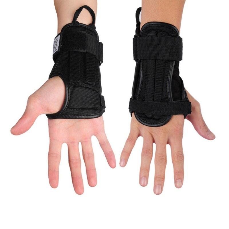 Protector de mano deportivo de LICRA soporte de muñeca EVA Protector Padder motocicleta esquí Protector de brazo Palma acolchada protectores de mano A