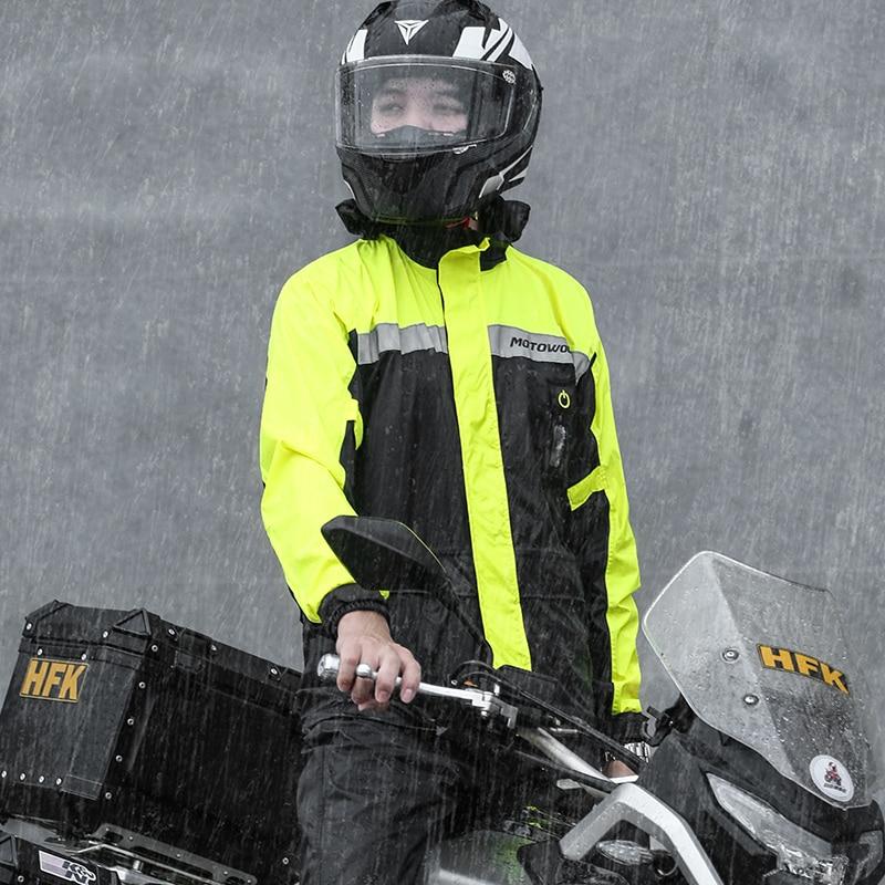 Waterproof Raincoat Men Impermeable Motorcycle Riding Yellow Rain Suit Adult Outdoor Hiking Fishing Protect Rain Gear enlarge