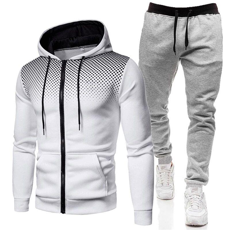 Толстовки с капюшоном и штаны для мужчин, спортивная одежда в стиле Харадзюку, повседневная спортивная одежда, брендовая спортивная одежда,...