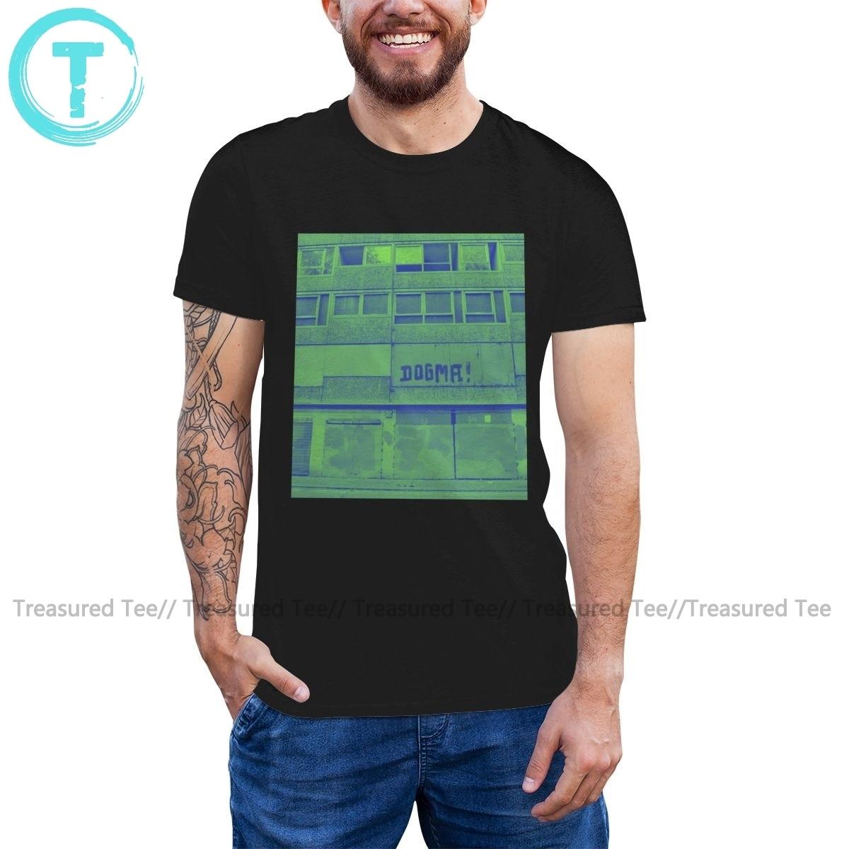 Dogma T Shirt Dogma T-Shirt Oversize Short Sleeves Tee Shirt Beach Funny Male Graphic Cotton Tshirt