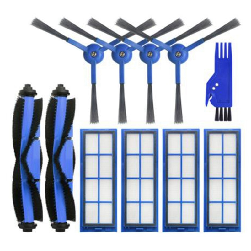 ل Anker Eufy L70 كنس جهاز آلي لتنظيف الأتربة فرشاة الرئيسية الجانب فرشاة HEPA تصفية تنظيف القماش استبدال الملحقات