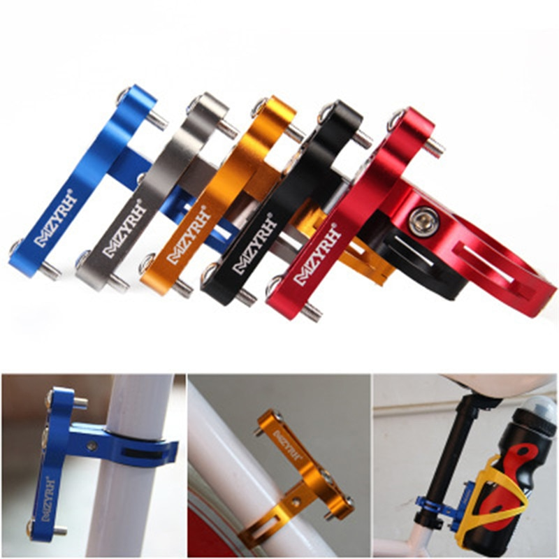 Adaptador de montaje para portabotellas ajustable, soporte para manillar de bicicleta de carretera, soporte para botella de agua, soporte para botellas