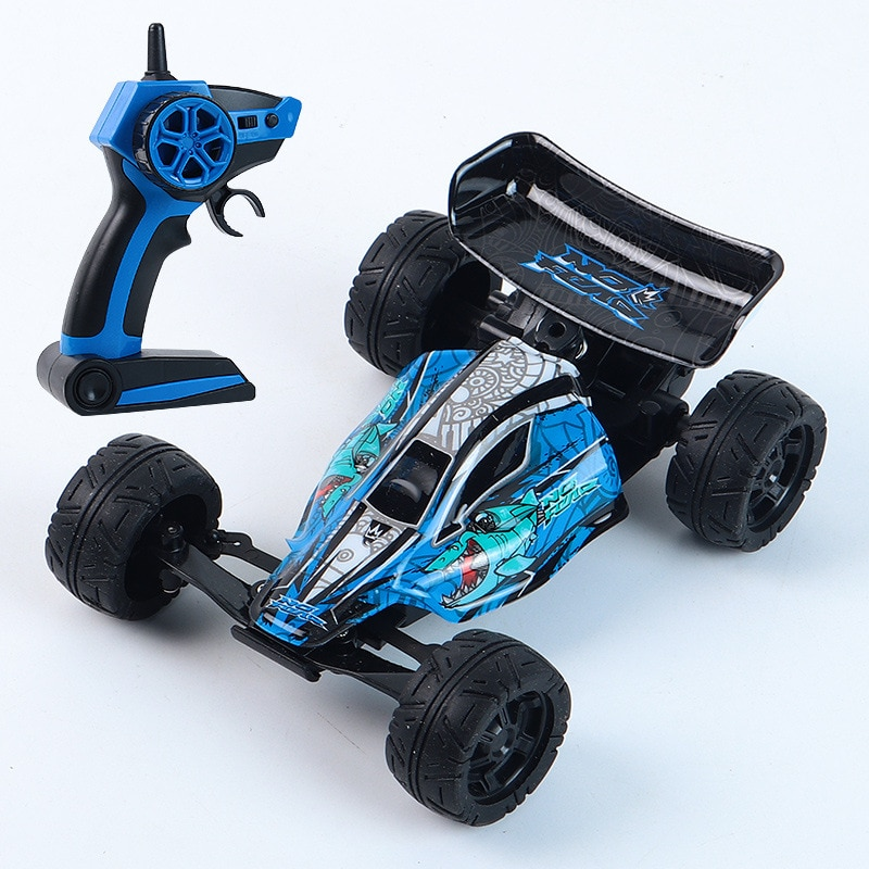 High-speed Mini Shark Stunt Vehicle 2.4G Remote Control Variable Speed Climbing Vehicle Children's Toy Kids Gift enlarge