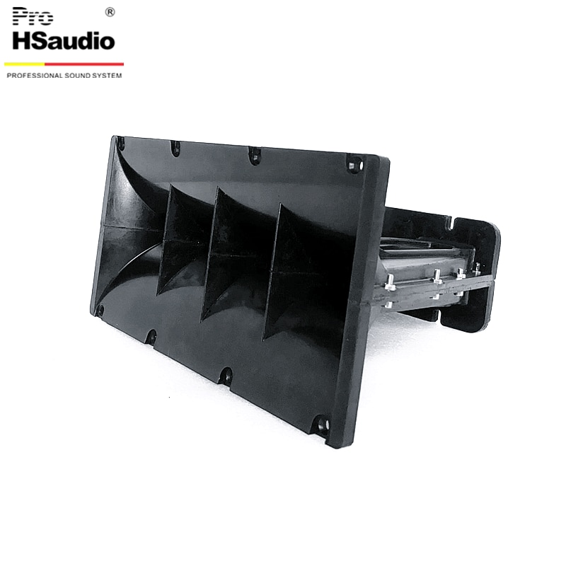 ProHSaudio Line Array Horn By PU For 12 Inch PRO Audio Size 320L*166L*224H 1''x2 (HS1921B-PU) enlarge