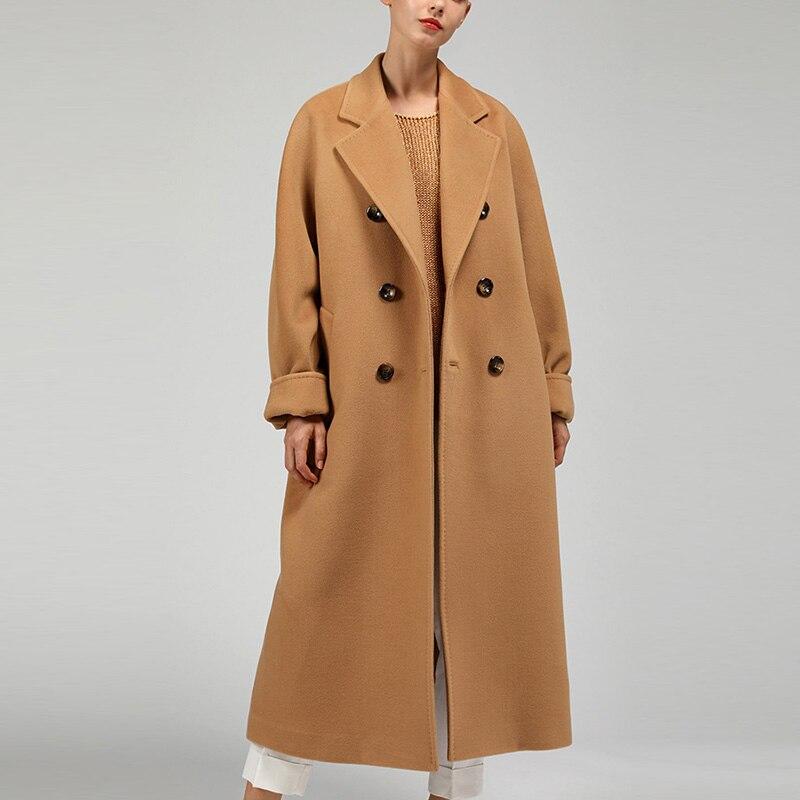 WYWAN осенний тренчкот, тонкий однобортный тренчкот, Женский тренчкот, длинные женские ветровки, Женское пальто