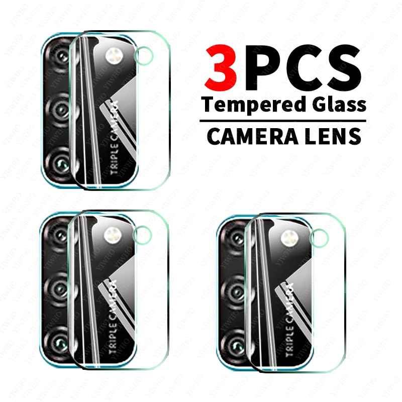 Защитное стекло 9H для Huawei Honor 9a 9c 9s 9x Pro 10x 9x lite 10xlite 9xlite, закаленное защитное стекло для объектива камеры, 3 шт.