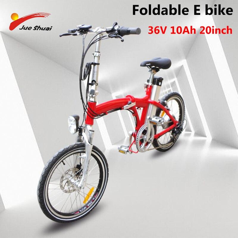 Bicicleta eléctrica plegable sin impuestos, 20 con batería de 36V 10Ah, rueda de Motor sin escobillas Bafang con pantalla LED, bicicleta de montaña eléctrica velo