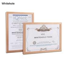 Cadre de certificat en bois cadre Photo en bois pour cadre Photo mural 15X21 21X30 30X42cm Pleixglass à lintérieur des cadres daffichage