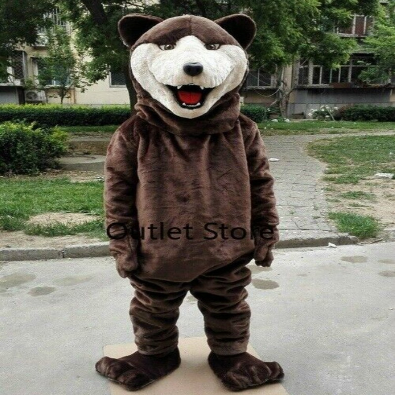 Details about  /Wolf Party Mascot Costume Suits Party Game Dress Outfits Ad Xmas Easter Adults