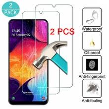 2/1 PCS Protetor de Tela para Samsung A2 Núcleo UM Quantum de Proteção de Vidro No Samsung Galaxy A30S A40S A50S A70S Claro vidro de segurança