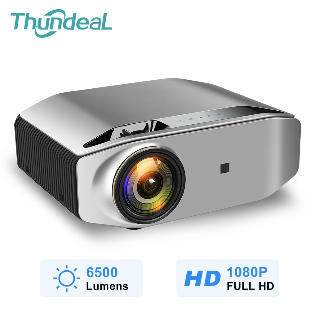 ThundeaL nativa de 1080P Full HD Proyector 6500 Lumen LED Proyector Inalámbrico...