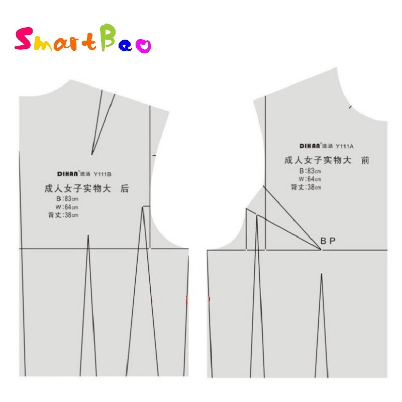 1:1 Women Fashion Design Ruler Female Body Type Ruler Aided Design Drawing Template for Tailor, Sewing and Designer fashion design ruler cloth design line drawing apparel garment prototype ruler human dynamic template for student drawing