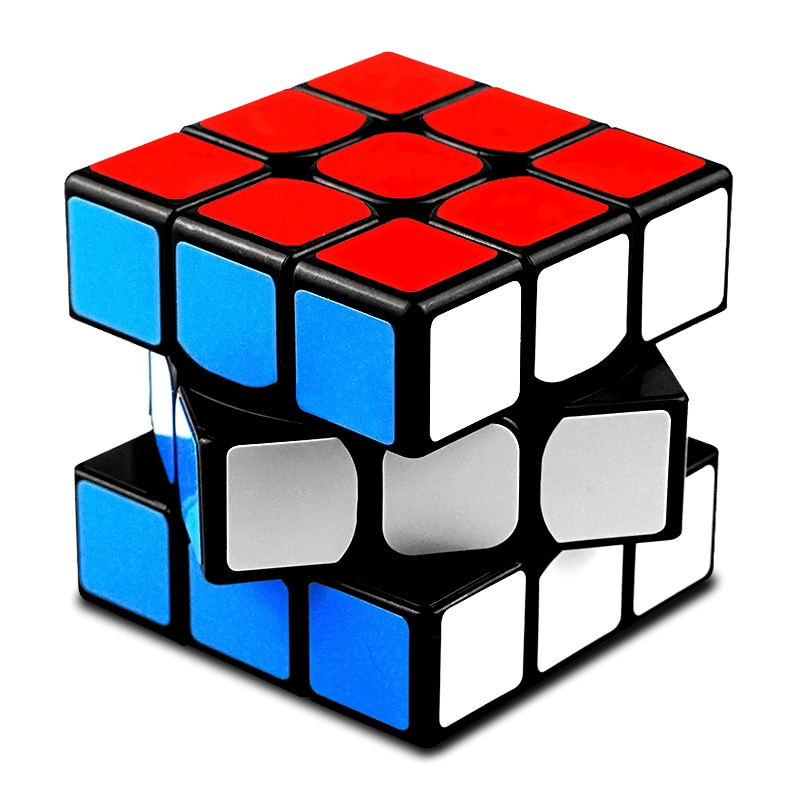QiYi Professional 3x3x3 Magic Cube Speed Cubes Puzzle Neo Cube 3x3 Cubo Magico Sticker Adult Education Toys For Children Gift qiyi jelly color fun magic cube 3x3 stickerless speed cube puzzle finger toy antistress education toys for children cubo magico