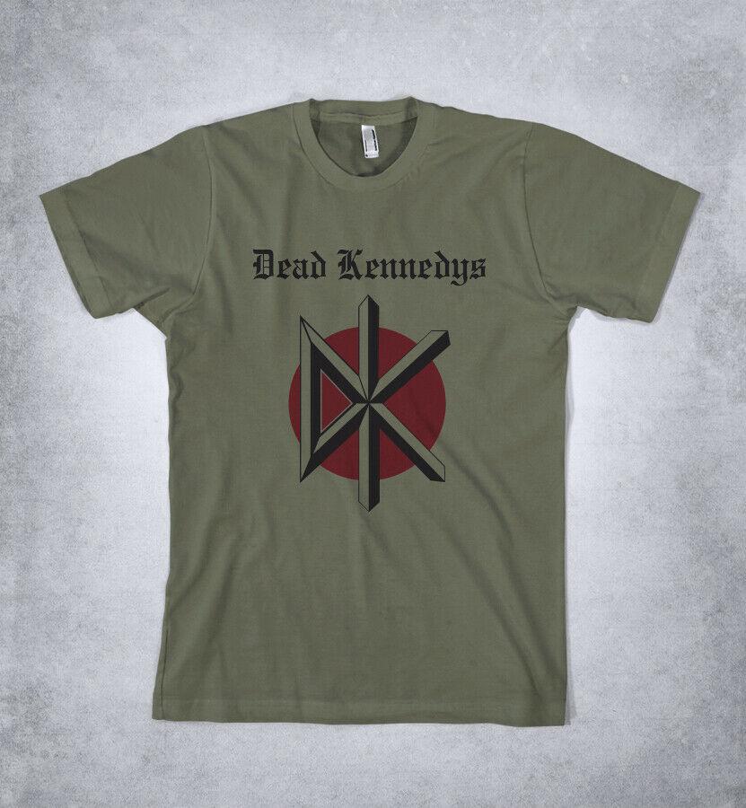 Dead Kennedys T camisa muerto Kennedy Logo T camisa Jello Biafra
