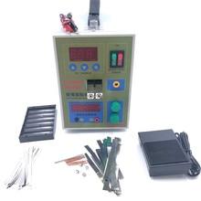Lithium battery Spot welding LED Pulse 18650 Battery Spot welder Battery Capability Charger  micro 18650 battery welding