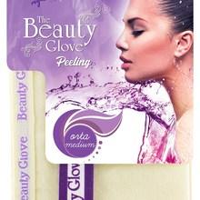 The Beauty Glove 100 Floss Exfoliating Bath Moderate Mitt