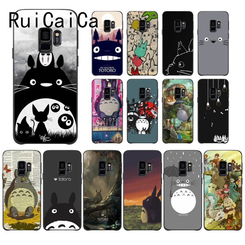 RuiCaiCa Cute Cartoon Happy Totoro DIY Printing PhoneCase For Samsung J7NEO 8 2018 7PRIME A3 2016 310 6 7 8 2018 6S 6 PLUS 7 720