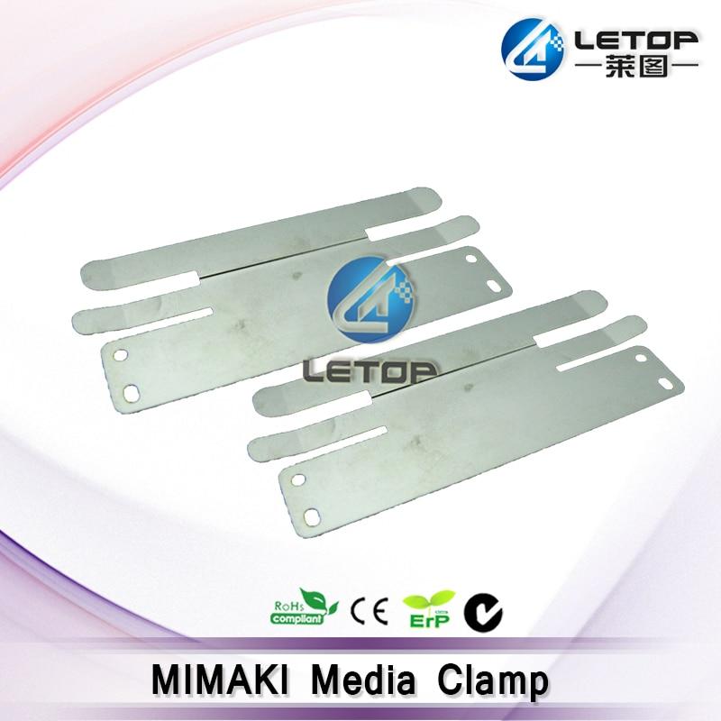 1 unids/bolsa, abrazadera Papel de impresora, abrazadera multimedia mimaki para la máquina mimaki JV33