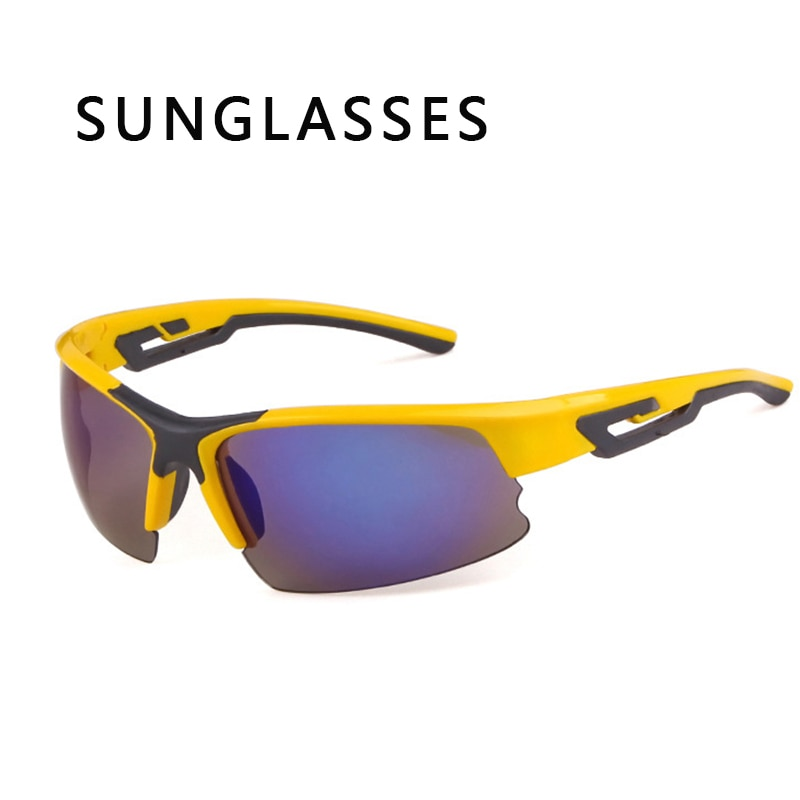 Riding  Bicycle Motorcycle Driving Sand-proof Men Sunglasses Sports Driving Sunglasses UV400 Gafas D
