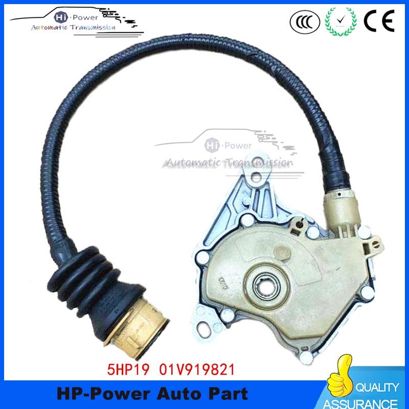 Auténtico 100% nuevo interruptor de seguridad Neutral multifunción 01V919821D de 8 pines para VW Audi A4 A6 A8 S4 Passat