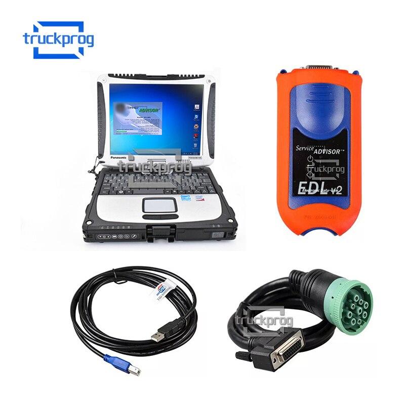 V5.2 JD doradca serwisowy JD Edl v2 elektroniczne łącze danych JD sprzęt budowlany rolnictwo ciągnik narzędzie diagnostyczne JD AG CF