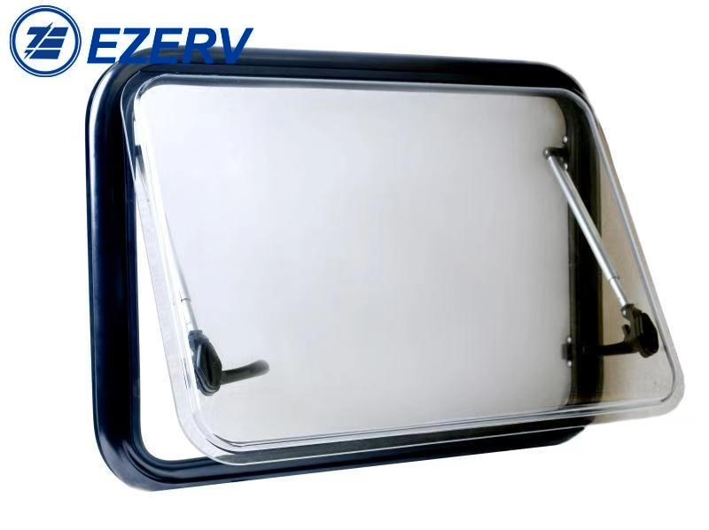 RV Caravan Aluminum Alloy Round Corner Window with Acrylic Glass MG17RW-AG travel trailer Motorhome van camper accessories enlarge