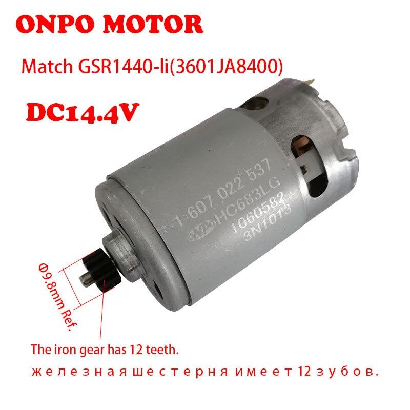 ONPO 12 الأسنان 1607022537 العاصمة العتاد المحرك لبوش DC14.4V GSR1440-LI(3601JA8400) الكهربائية الحفر صيانة قطع الغيار