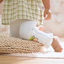 New Baby Girls Leggings Loose Pants Spring Autumn Kids Girl Pants Fashion Cartoon Pattern Trousers C