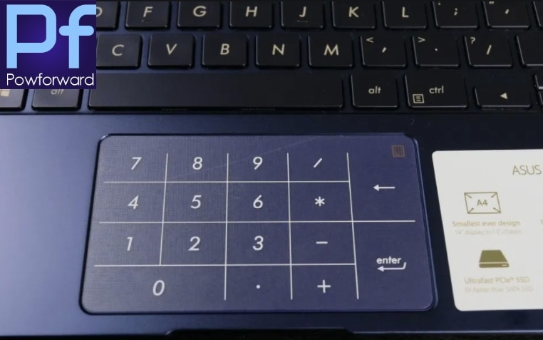 Protetor matte do trackpad da etiqueta do filme do touchpad para asus ux433 ux433fn ux433fa ux 433 fn fa almofada de toque