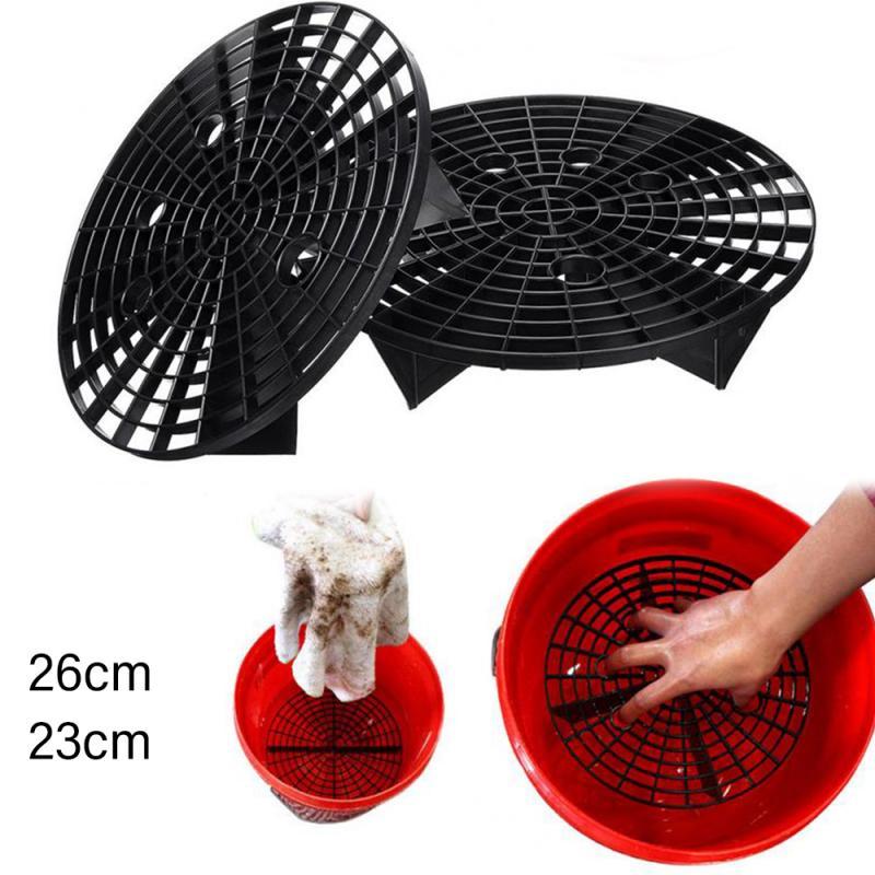 1 pçs lavagem de carro grit guarda 23/26cm inserir balde de lavatório filtro de carro zero sujeira filtro esponja ferramentas limpeza do carro acessórios