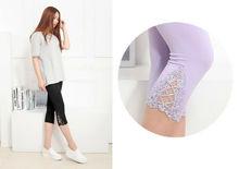 Sommer Kleidung Für Frauen Kurze Leggings Frauen Workout Leggings Sport Leggins Gym Mesh/Blau/Weiß/Schwarz Leggings für Fitness