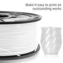 Pla Filament 1Kg 1.75Mm 3D Printer Filament Materiaal Pla Filament 1Kg Met Spool Niet-giftige Hoge taaiheid Afdrukken Verbruiksartikelen