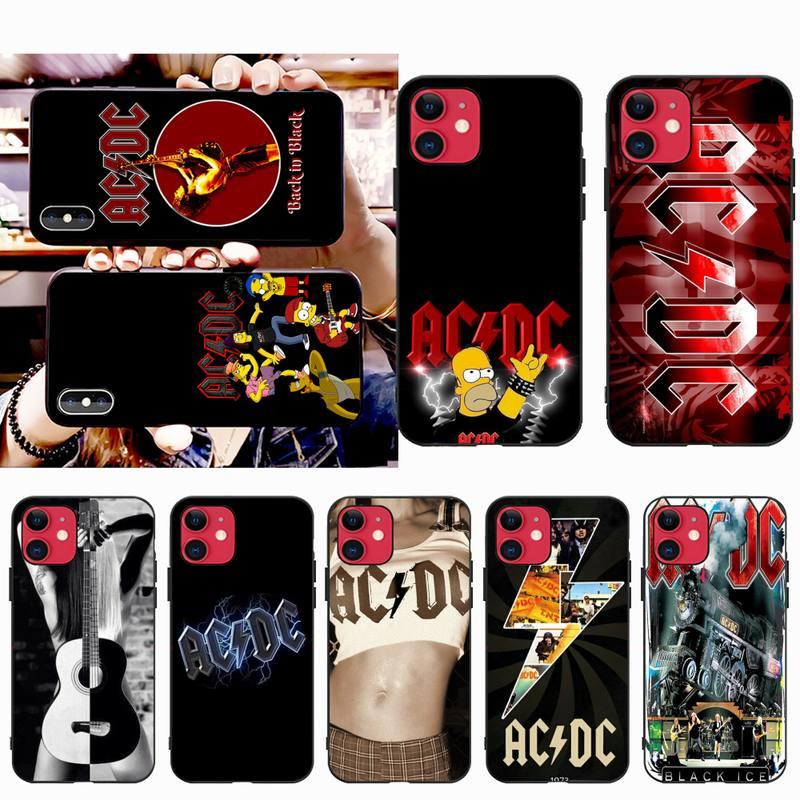 Capa capa para iphone 11 pro xs max 8 7 6s plus x 5S se 2020 xr capa de telefone de música do cartaz da c.c. de huagetop ac