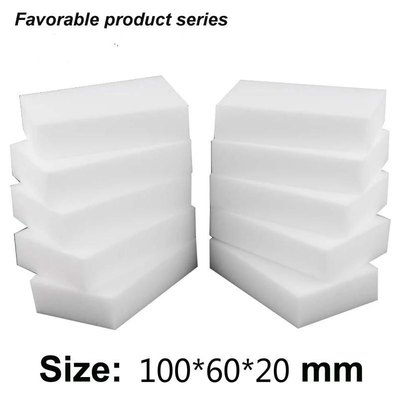 Меламиновая губка-ластик, губка для кухни высокой плотности, 50 шт., 10*6*2 см, меламин для мытья посуды, Волшебная мытье посуды губка для посуды magic home макси 9 6 3 5 см